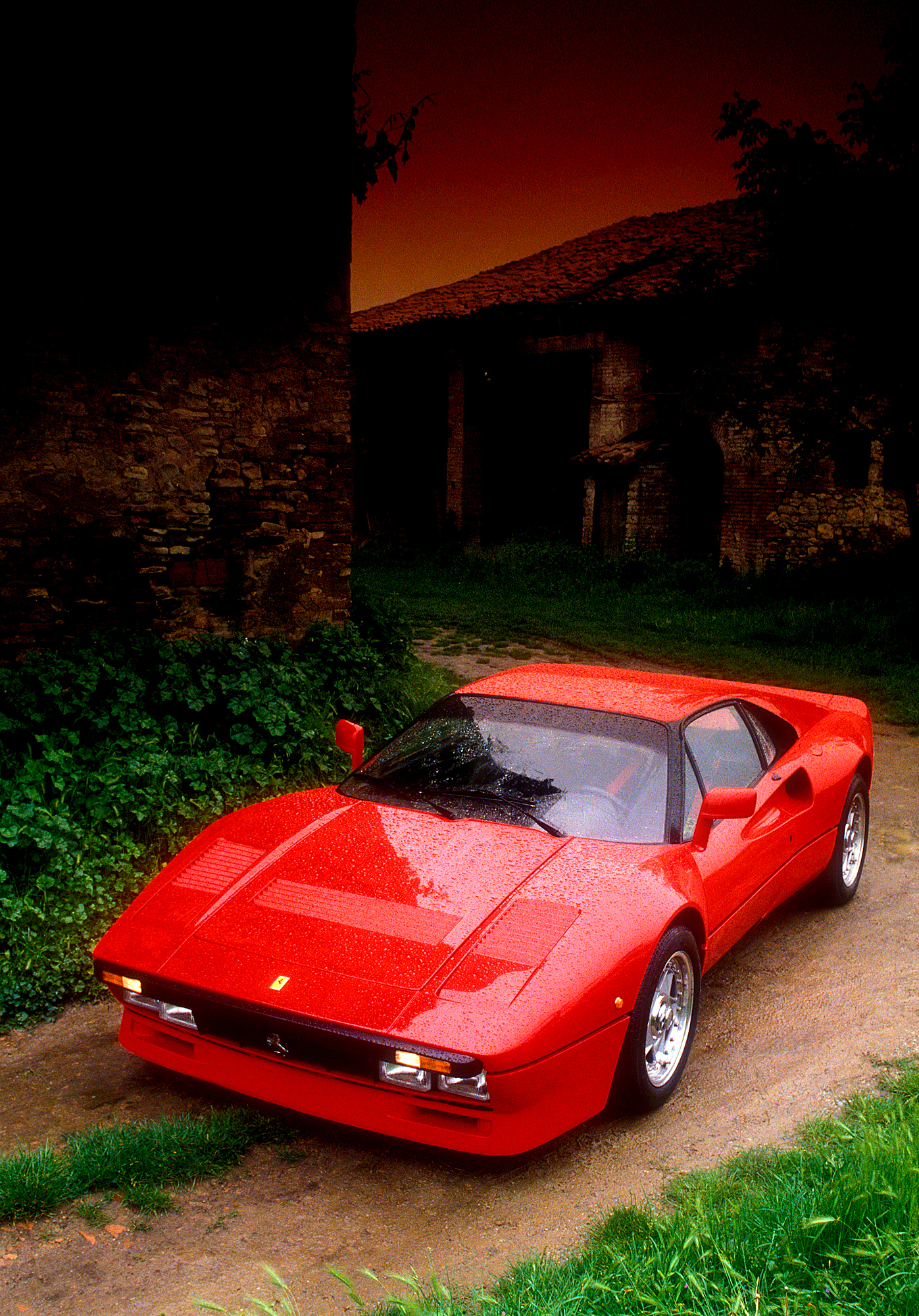 Ferrari 288GTO C&D cover 1984